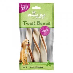 PP Duck Twist Bones. 70 g (3 stk / 14 cm)