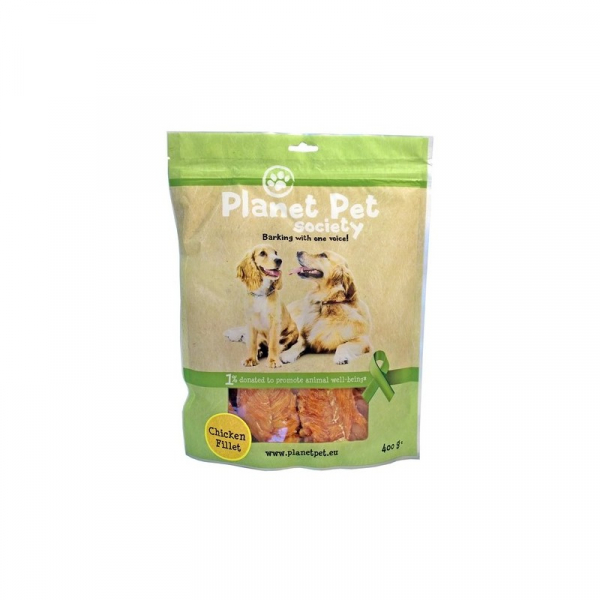 PP Chicken Fillet 400 g. Planet Pet Society
