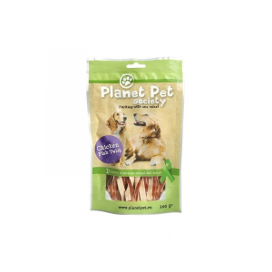 PP Chicken-Fish Twist 100 g. Planet Pet Society