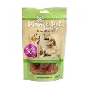 PP Duck Strip 100 g. Planet Pet Society