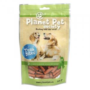 PP Tuna Bite 100 g. Hund. Planet Pet Society