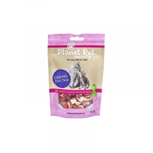 PP Kat Chicken Twist 30 g. Planet Pet Society