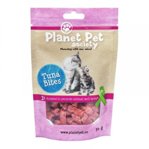 PP Kat Tuna Bite 30 g. Planet Pet Society