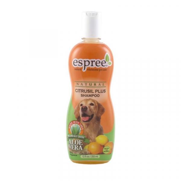 ESPREE Citrusil Plus Shampoo 355 ml. Til hunde som lugter eller har insektbid.