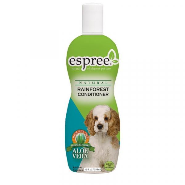 ESPREE Rainforest Conditioner 355 ml. En rigtig god Allround-shampoo til alle hunde.