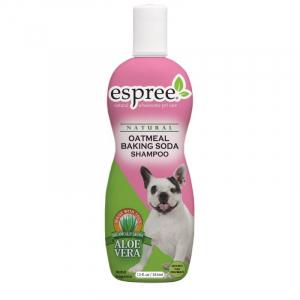 ESPREE Oatmeal Baking Soda Shampoo 355 ml. Renser huden i dybden og fjerner effektivt uønsket lugt.