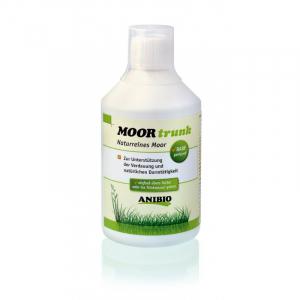 ANIBIO Moortrunk 500 ml. Ved forstyrret tarmfunktion, oppustethed og fordøjelsesproblemer