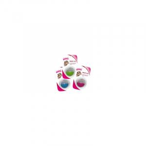 Godbidsbold til kat, 3 farver med hver sin sværhedsgrad. Ø5 cm.