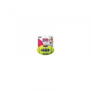 KONG AIRDOG SQUEAKER FOOTBALL M 13x8CM. Tennis bold materiale som ikke slider hundens tænder