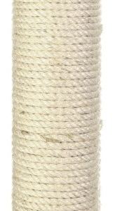 Stamme til kradsetræ Ø11 cm./70 cm. incl. M10 skruer