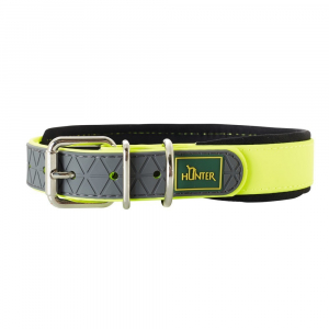 Hunter Line Convenience Comfort Halsbånd 55 Gul