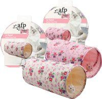SHABBY CHIC KATTE TUNNEL SUMMER TIME. Diverse Farver 63x24x24 CM. ALL FOR PAWS