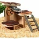 HAMSTER FIT STATION 28x23x18 CM. KLATREPARK AKTIVERING. KARLIE