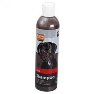BLACK COAT SHAMPOO 300 ML. Karlie Flamingo. Gendanner naturlig mørk farve og glans