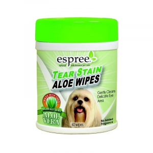 Espree Tear Stain Wipes x60. Espree
