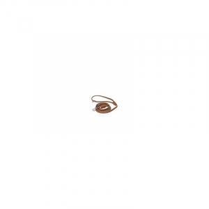 Line Læder, Rundsyet 6 mm/180 cm. Cognac