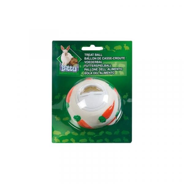 Aktivitetsbold til gnaver. Diameter 7 cm.