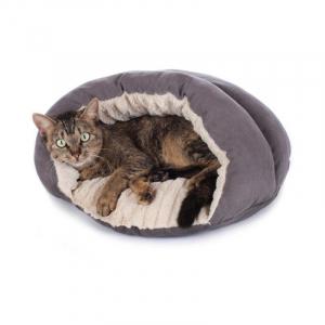 Hunter kattehule, Brighton 43x43 cm. Grå