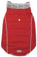 Go fresh pet combo knit, Hunde Jakke, rød XXS 23 cm.