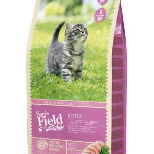 Sam's Field Kitten. 2,5 kg. God kvalitet og drøj i brug.