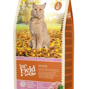 Sam's Field Cat Senior. 2,5 kg. God kvalitet og drøj i brug.