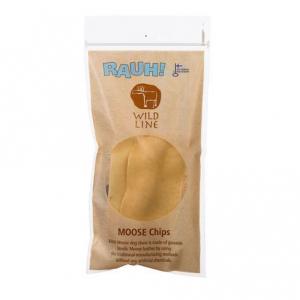 Rauh! Wild Line Moose, Elgskind Chips, ca. 20 g. I genlukkelig plastikpose.
