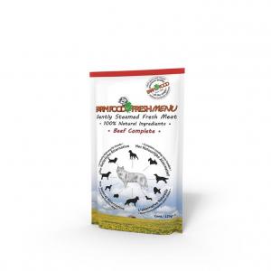 Farmfood fresh menu vådkost til alle hunde. Oksekød 125 g.