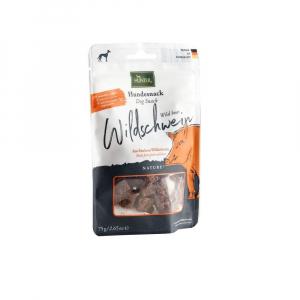 Hunter snack Nature, Vildsvin. 75 g. God til allergi hunde.
