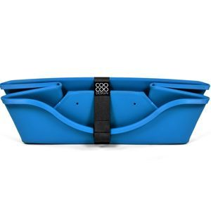 CooCoo Design, WonderFold® sammenklappelig kurv, lille, 55 x 36 x 16 cm. Babyblå