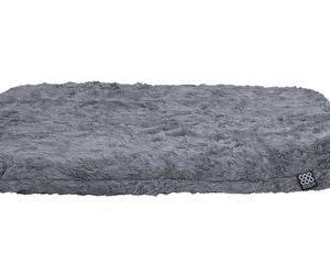 CooCoo Design, WonderFold® Fluffy Hynde for sammenklappelig kurv, lille, 46 x 28 x 4,5 cm. Sølvgrå
