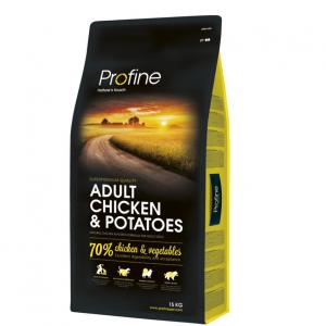 Profine hund vosken 15 kilo kylling