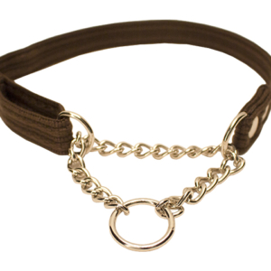 Fenriz halsbånd med kæde brun