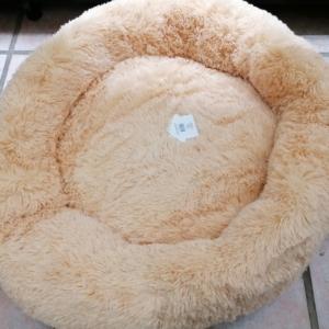 Antistress donut seng lysebrun