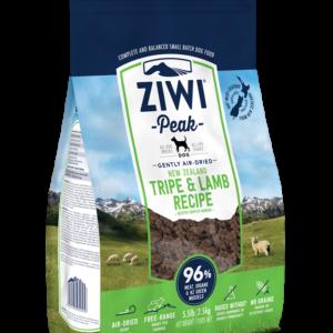 Ziwipeak tripe og lamb airdried hundefoder