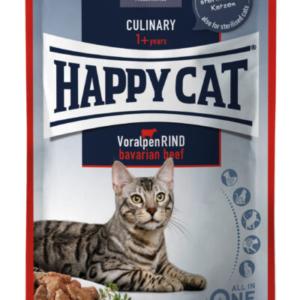 Happy Cat vådkost okse