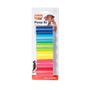 Karlie høm høm poser Rainbow 6 x 20 poser, bionedbrydelige.