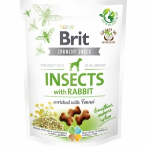 Brit Care Crunchy Cracker Insekter med kanin