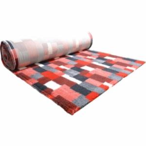 Vetbed tæppe med patchwork